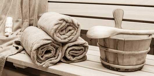 Entspannung und Gesundheit in der Sauna