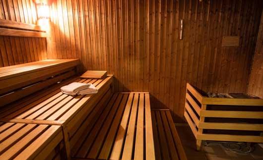 klassische Sauna-finnische Sauna