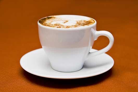 Cappuccino hat weniger Säuren