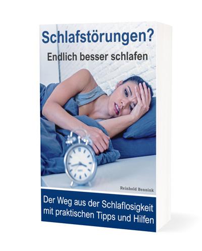 Schlafstörungen Schlaflosigkeit Cover