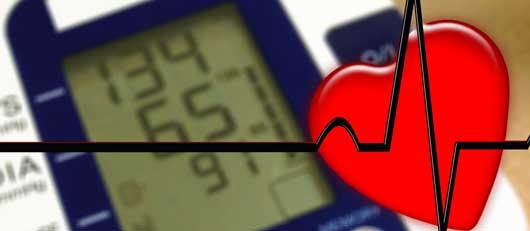 hoher Blutdruck und Herzrasen