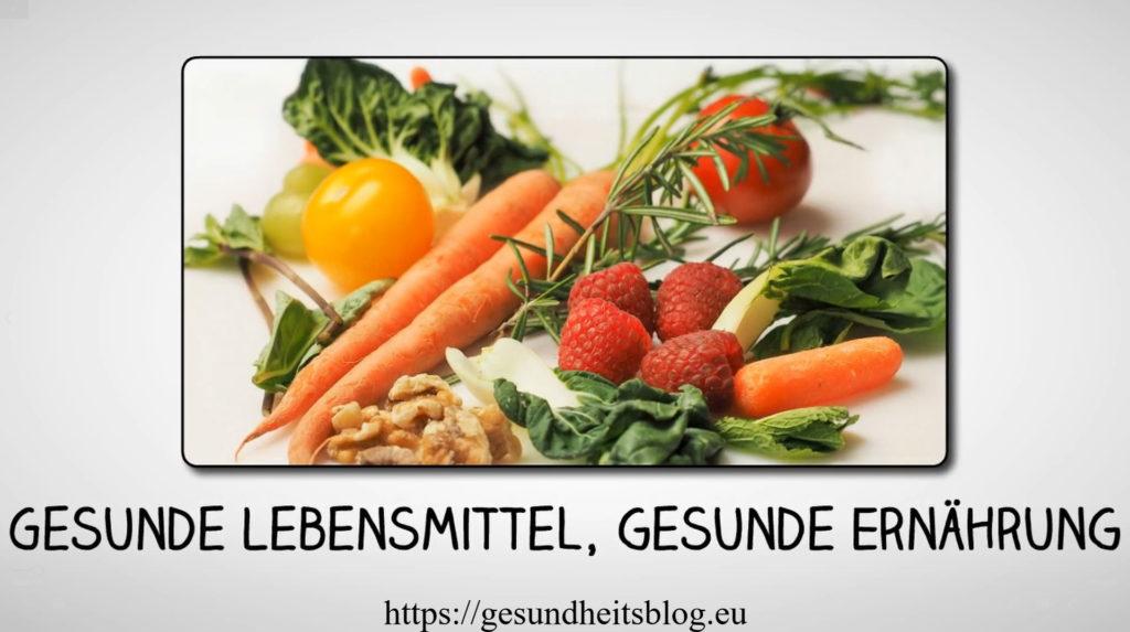 Youtube Video zum Thema Superfoods, gesunde Lebensmittel und gesunde Ernährung